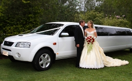 Exterior of 14 seater Ford Territory with Bridal couple.jpg